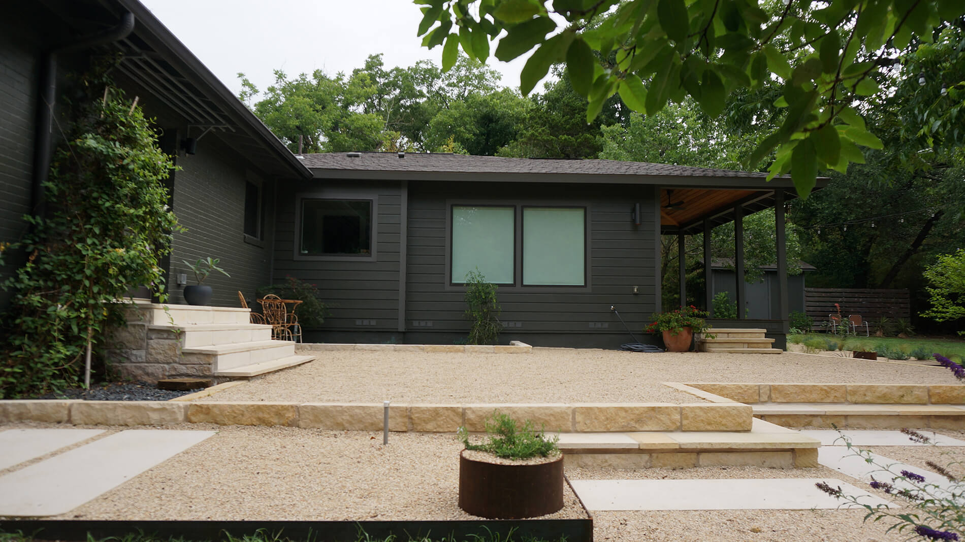 Yarrow Landscaping Has Worked With Many Clients In The Lakeway And Austin  Areas That Are Attracted To The Possibilities That A Contemporary Landscape  Design ...